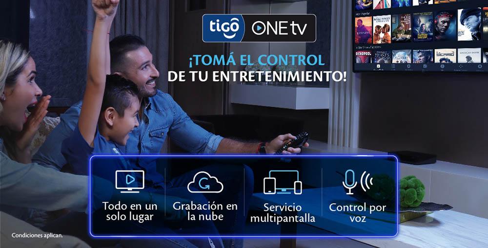 TIGO ONETV CONECTA a los nicaragüenses con la televisión del futuro en sus hogares