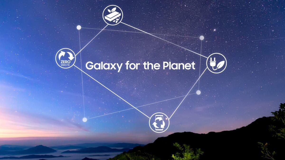 «Galaxy for the Planet» es la visión de sustentabilidad de Samsung Electronics para sus dispositivos móviles