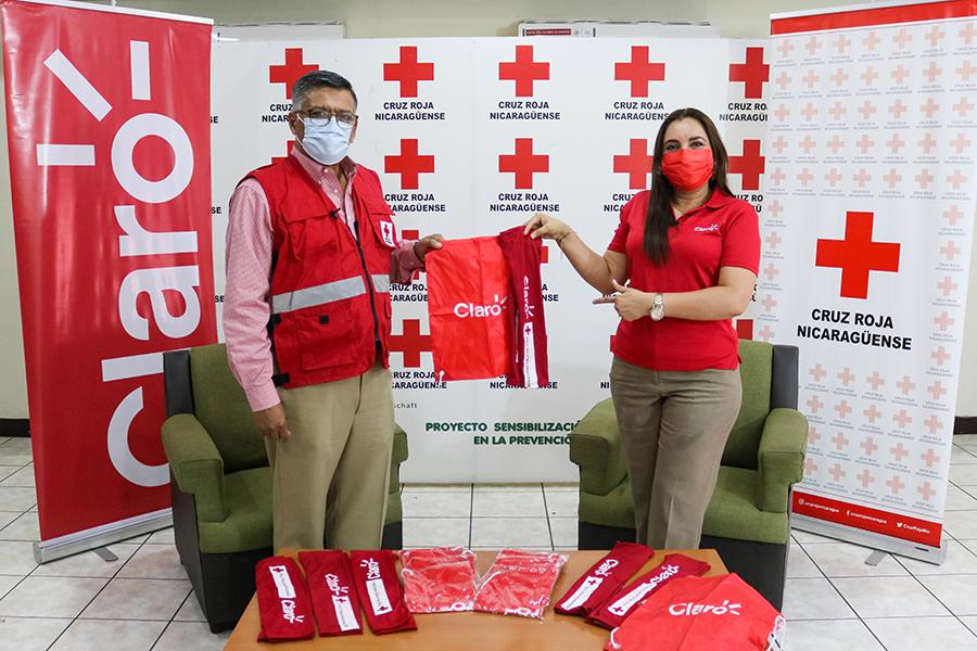Claro Nicaragua se une a plan de verano de la Cruz Roja