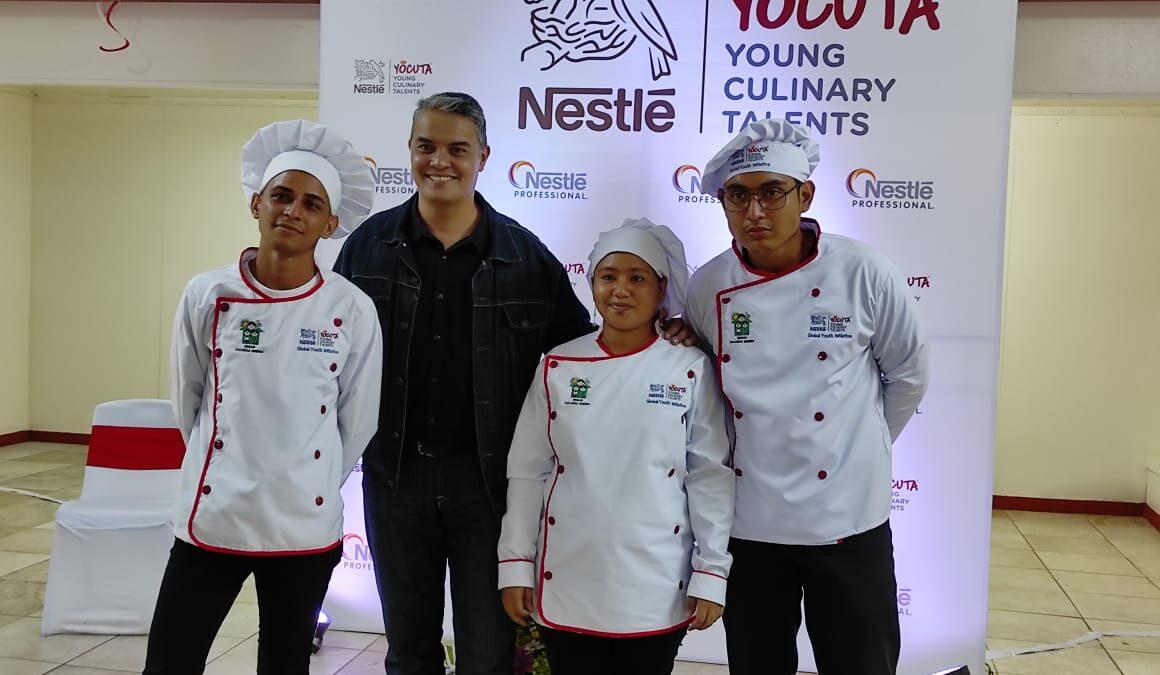 Nestlé y Hogar Zacarías Guerra firman convenio para brindar capacitación integral a jóvenes estudiantes de cocina, a través del programa YOCUTA