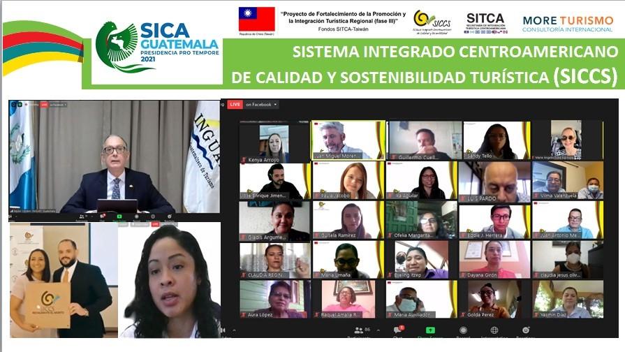 Un centenar de empresas de Belize, Guatemala, Honduras y Nicaragua dialogan sobre el futuro de la Calidad Turística en Centroamérica, gracias al apoyo de la República de China (Taiwán)
