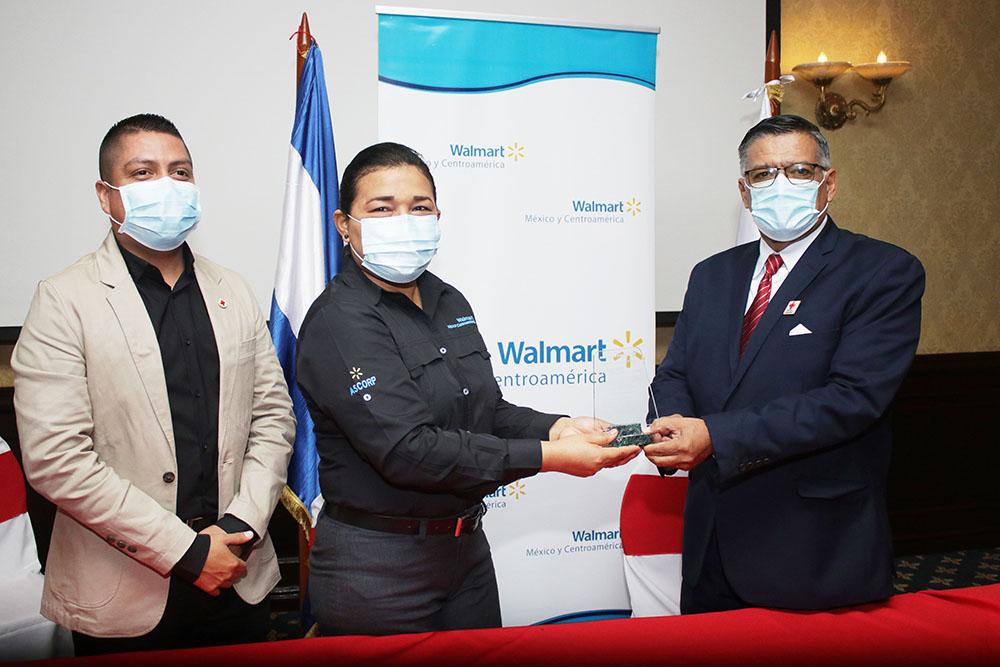 Walmart y Cruz Roja Nicaragüense ratifican su compromiso por la asistencia humanitaria