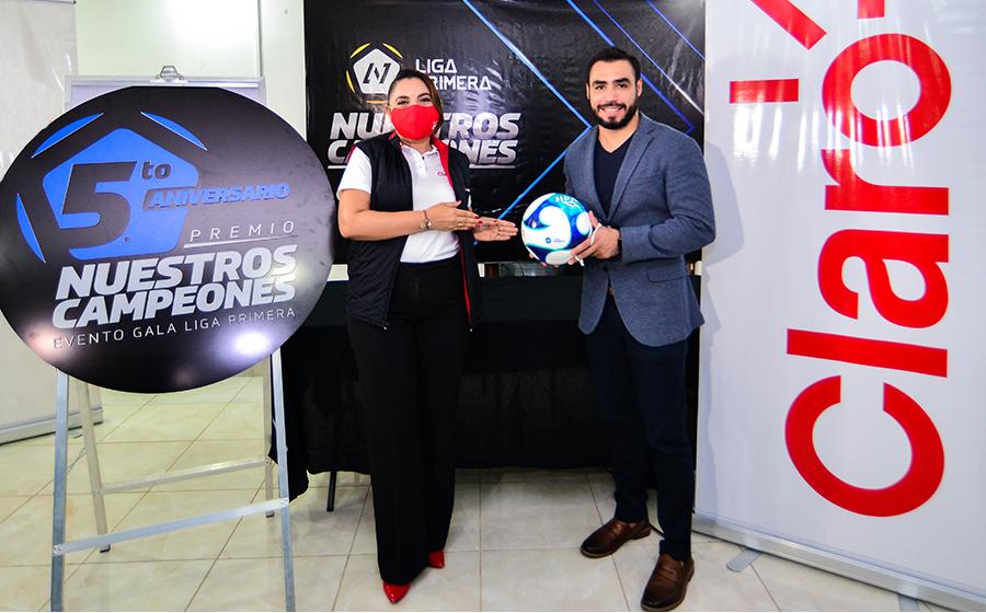 Claro Nicaragua, patrocinador oficial de la gala del 5to aniversario de Liga Primera