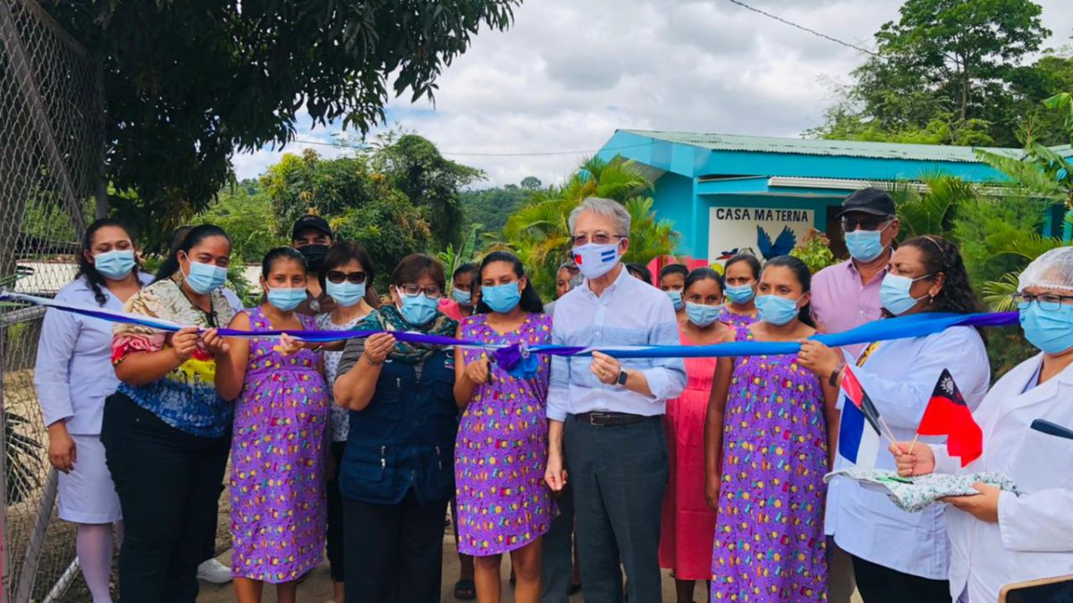 Casa Materna de San Juan de Río Coco renovada con apoyo de Taiwán