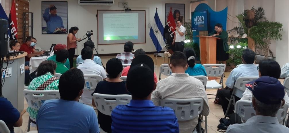 """Proyecto de Maricultura participa en el """"IV Foro Internacional de Producción de Peces en Estanques"""""""