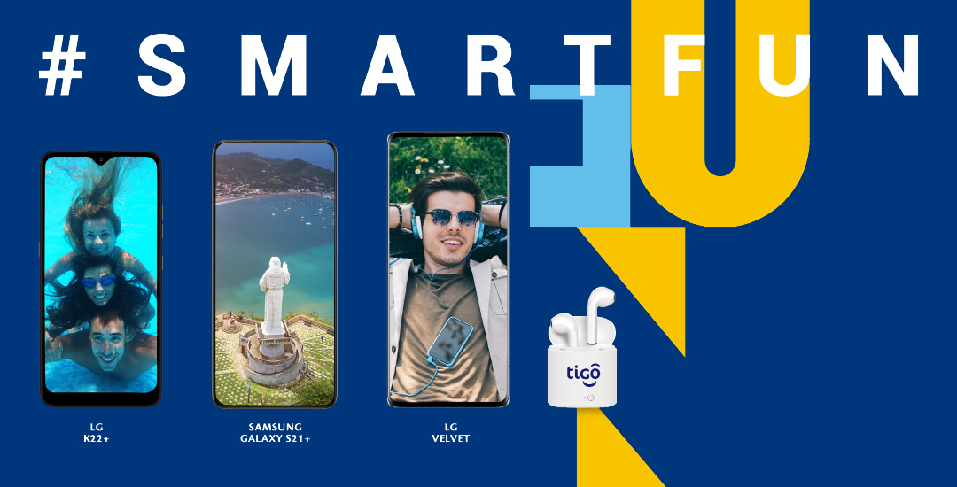 Comprá un Smartphone 4G LTE en Tigo Nicaragua y recibe Audífonos Inalámbricos GRATIS