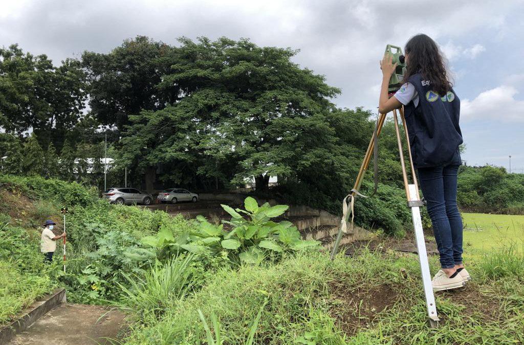 Misión Técnica de Taiwán e INETER inician levantamiento Altiplanimétrico de 3 Micropresas en Managua