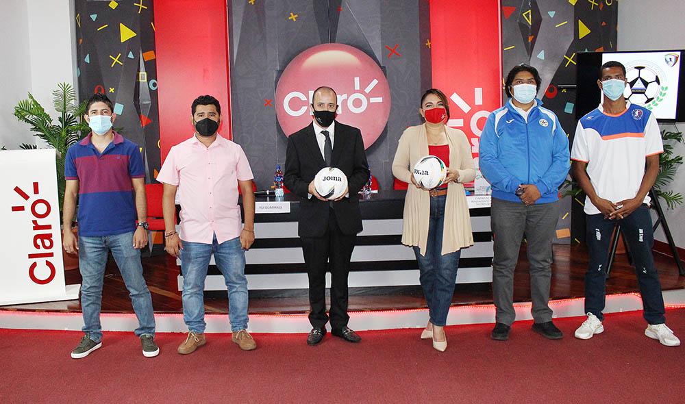 Claro apoya Fútbol Sala en Nicaragua