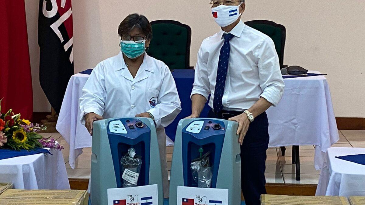 Taiwán dona 50 Concentradores de Oxigeno al MINSA