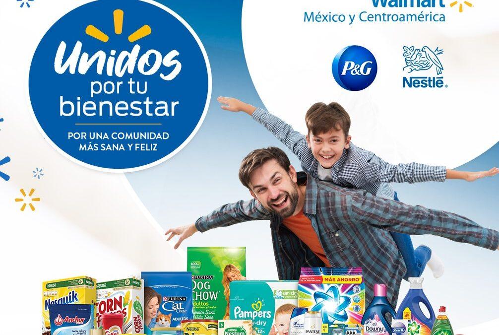 Nestlé, P&G y Walmart se unen para llevar salud, nutrición y bienestar a los hogares centroamericanos