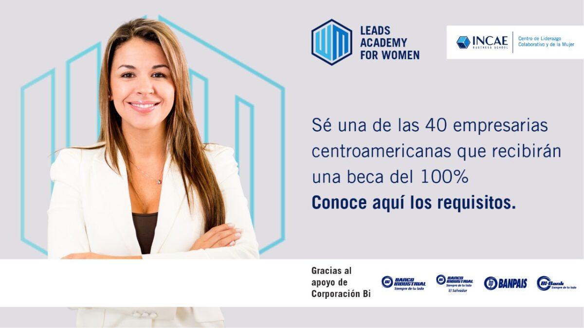 INCAE y Banco Industrial crean poderosa alianza y lanzan el programa LEADS ACADEMY FOR WOMEN 2021 en Nicaragua
